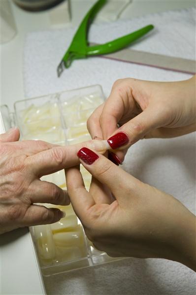 Lepení nehtů ukázka 2